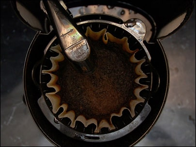 coffee grind in garbage disposal
