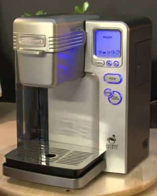 The Cuisinart Ss 700 Single Serve Coffee Maker Vs Keurig K Cup