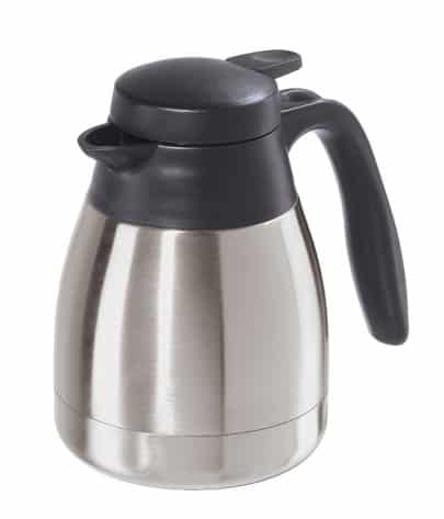 Oggi Solo 20-Ounce Thermal Vacuum Carafe with Stainless Steel Liner and Press Button Top