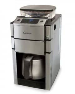 coffee maker with burr grinder