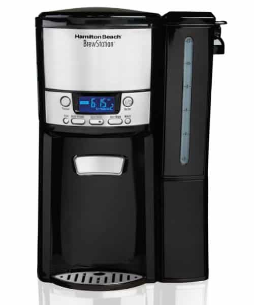 Hamilton Beach BrewStation 12 Cup Coffeemaker w/Removable Reservoir-47900