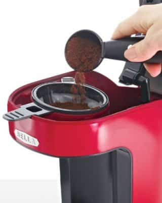 scoop coffee maker vs keurig