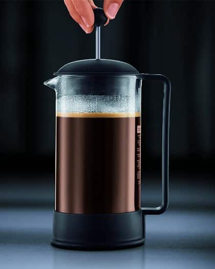 Bodum BRAZIL Coffee Maker, French Press Coffee Maker, Black, 34 Ounce (Cheap)