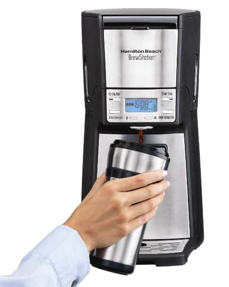 Hamilton Beach 12-Cup Coffee Reservoir Brewstation Summit Ultra - Coffee Dispensing Machine (48465)