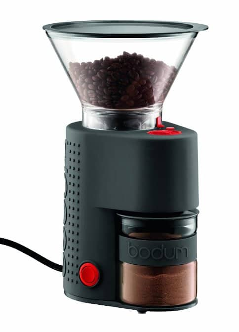 Bodum BISTRO Burr Grinder, Electronic Coffee Grinder with Continuously Adjustable Grind