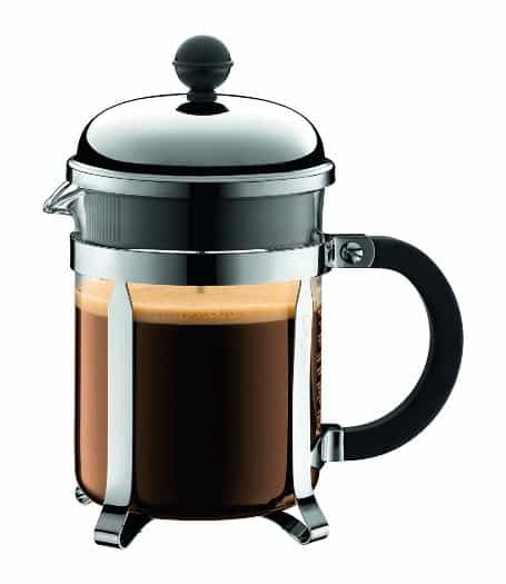Bodum Chambord 4 Cup French Press Coffee Maker, 17-Ounce