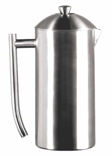 Frieling Brushed Stainless Steel French Press, 36-Ounce