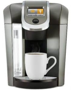 Keurig K575 Single Serve Programmable K-Cup Coffee Maker with 12 oz Brew Size and Hot Water on Demand