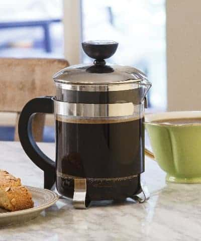 Primula 4-Cup Classic Coffee Press – Borosilicate Glass and Stainless Steel Filter – Dishwasher Safe – 16 oz
