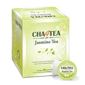 Cha4TEA Jasmine Green Tea K-cups