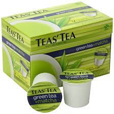 Teas' Tea Green Tea Plus Matcha K-cups