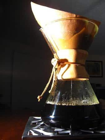 chemex coffee preparation