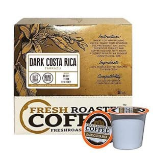 Dark Costa Rica Tarrazu K-cups
