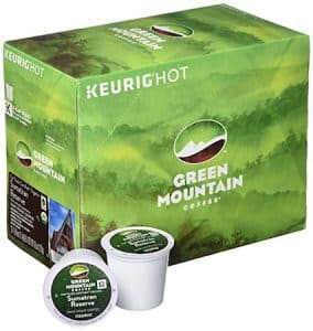 Green Mountain Coffee Organic Sumatran K-cups