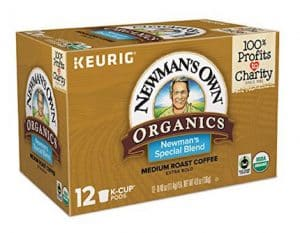 Newman's Own Special Blend Fair Trade Organic K-Cup
