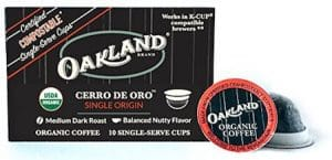 Oakland Coffee Works Cerro De Oro K-cup