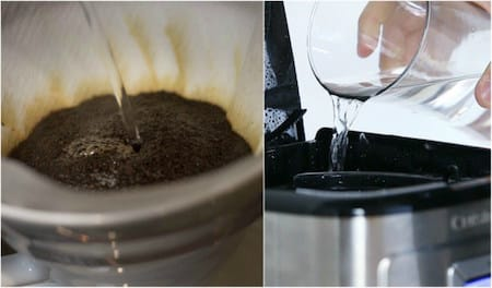 Pour Over vs. Drip Brewing Process