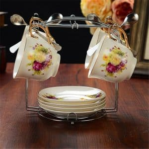 Yontree cup and saucer organizer