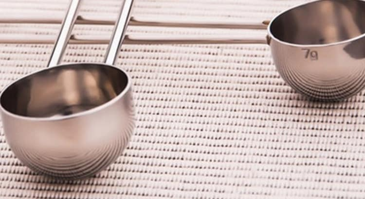 two tablespoon coffee scoop