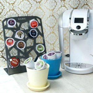 Vertical Storage Options for K-cups